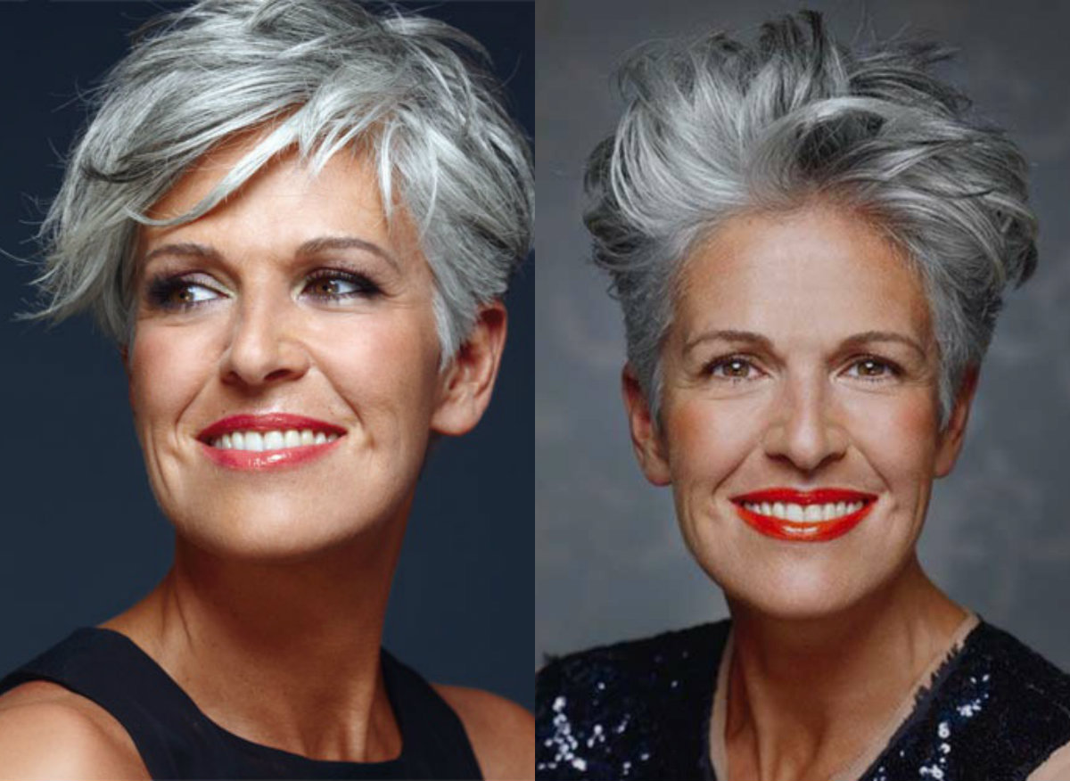 Pixie haircuts for successful ladies over 50